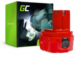 Batterie Green Cell (3Ah 12V) 1220 1222 1233 1234 PA12 pour Makita 1050D 4000 6227D 6270D 6271D 6313D 6317D 8271D Celma WAK 12