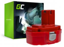 Green Cell ® Batterie 1822 1833 PA18 pour Makita 4334D 6343D 6347D 6349D 6390D 8390D 8391D
