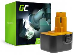 Green Cell ® Batterie DE9074  pour visseuse perceuse DeWalt 2802K 2812K DC740KA