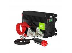 Green Cell® 300W/600W Convertisseur de Tension DC 12V AC 230V Onduleur Power Inverter