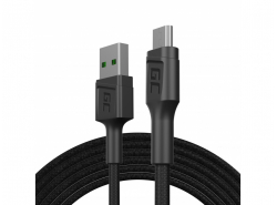 Câble Green Cell GC Eko USB - Micro USB 200cm charge rapide Ultra Charge, QC 3.0