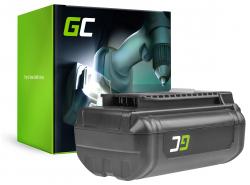 Batterie Green Cell (3Ah 36V) 5133002166 BPL3626D2 BPL3650 BPL3650D OP4026 RY36B60A pour Ryobi RY40200 RY40403 RY40204 RY40210