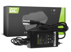 Green Cell ® Netzteil / Ladegerät für Akkus für Elektrofahrräder 24V 2A