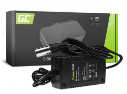 Green Cell ® Ladeprogramm 54.6V 1.8A (Cannon) pour 48V elektrische Fahrrad-Batterie