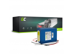 Green Cell® Batterie Vélo Electrique 24V 14.5Ah Li-Ion Cellules Panasonic Battery Pack E-Bike
