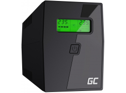 Green Cell® Onduleur UPS/USV 600VA 360W Alimentation d'énergie Non interruptible