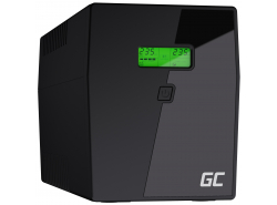 Green Cell® Onduleur UPS/USV 2000VA 1200W Alimentation d'énergie Non interruptible