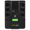 Green Cell® Onduleur AiO UPS/USV 800VA 480W Alimentation d'énergie Non interruptible