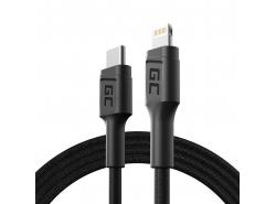 Kabel GC Stream USB-C do Lightning z certyfikatem MFi do szybkiego ładowania iPhone X XS XR XS Max 8 Plus i więcej