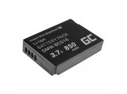 Bateria Green Cell ® DMW-BCG10 do Panasonic Lumix DMC-TZ10 DMC-TZ20 DMC-TZ30 DMC-ZS5 DMC-ZS10 DMC-ZX1 DMC-ZX3 3.7V 850mAh