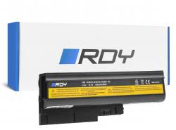 RDY Batterie pour Lenovo IBM ThinkPad T60 T60p T61 R60 R60e R60i R61 R61i T61p R500 SL500 W500