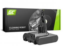 Batterie (2Ah 21.6V) 968670-02 968670-03 968670-06 SV11 Green Cell pour Dyson V7 Animal Pro+ Absolute Car+Boat Trigger