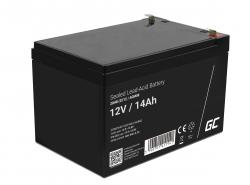 Green Cell ® Gel Batterie AGM 12V 14Ah