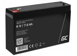 Green Cell ® Gel Batterie AGM 6V 7Ah