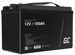 Green Cell ® Batterie AGM VRLA 12V 100Ah