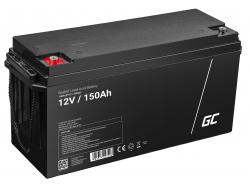 Green Cell ® Batterie AGM VRLA 12V 150Ah