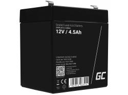 AGM Batería Gel Plomb 12V 4.5Ah Sans entretien Green Cell pour les jouets et la lampe de poche