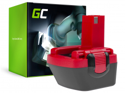 Batterie Green Cell (1.5Ah 12V) 2 607 335 709 2607335463 BAT046 pour Bosch O-PACK GLI GSR PAG PSR PSB 12 12-2 12VE-2 VSE-2 3360K