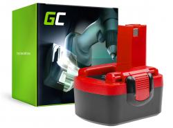 Batterie Green Cell (1.5Ah 14.4V) 2607335619 2607335711 2607335263 BAT038 pour Bosch O-PACK GSR PSR PSB 14,4 14,4-2 VE-2 VES-2