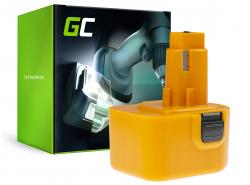 Batterie Green Cell (2Ah 12V) A9275 DE9037 DE9071 DE9074 DE9075 pour DeWalt / Black&Decker KC120V KC1262F CD12C CD12CA