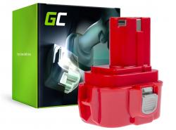Batterie Green Cell (1.5Ah 9.6V) PA09 192019-4 9120 9122 9133 9134 9135 pour Makita 6222D 6226D 6260D 6226DW 6226DWBE 6222DE