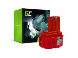 Batterie Green Cell (2Ah 9.6V) PA09 192019-4 9120 9122 9133 9134 9135 pour Makita 6222D 6226D 6260D 6226DW 6226DWBE 6261D 6222DE