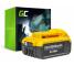 Batterie Green Cell (5Ah 18V) DCB180 DCB181 DCB182 DCB183 DCB184 DCB185 DCB200 XR pour DeWalt DCD776 DCF899P2 DCD796P2 DCF885