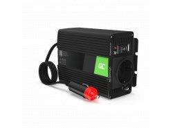 Green Cell® 150W/300W Convertisseur de Tension DC 24V AC 230V Onduleur Power Inverter