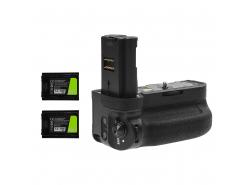 Grip Green Cell VG-C3EM pour appareil photo Sony α9 A9 α7 III A7 III α7R III A7R III