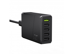 Chargeur Green Cell GC ChargeSource 5 5xUSB 52W avec charge rapide Ultra Charge et Smart Charge