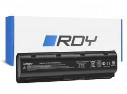 RDY Batterie MU06 593553-001 593554-001 pour HP 240 G1 245 G1 250 G1 255 G1 430 450 635 650 655 2000 Pavilion G4 G6 G7