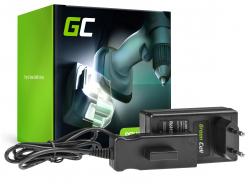 Green Cell ® Chargeur 21V pour Gardena 18V 9839-20 9840-20 BLi-18 ComfortCut Li-18/23 EasyCut Li-18/23 TCS Li-18/20