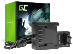 Green Cell ® Chargeur 29862 29702 25.2V pour GreenWorks 21.6-24V Li-Ion 29842 29852 G24 G24B2 G24CD GD24IW