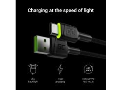 Câble USB Green