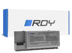 RDY Batterie PC764 JD634 pour Dell Latitude D620 D620 ATG D630 D630 ATG D630N D631 D631N D830N PP18L Precision M2300