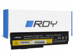 RDY Batterie 42T4536 42T4650 pour Lenovo ThinkPad X200 X200s X201 X201s X201i