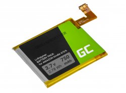 Green Cell ® Batterie 1-756-769-11 pour Sony Portable Reader System PRS-500 oraz PRS-505 Lecteur ebook