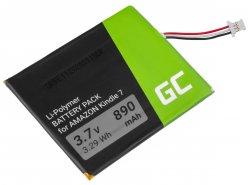 Green Cell ® Batterie 170-1032-01 pour Amazon Kindle 3 Keyboard 2010 D00901 Lecteur ebook