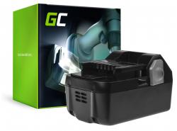 Batterie Green Cell (4Ah 18V) BSL1815 BSL1820 BSL1830 BSL1840 BSL1850 BSL1825 pour Hitachi C18DSL C18DSL2 C18DSLP4 CG18DSDL