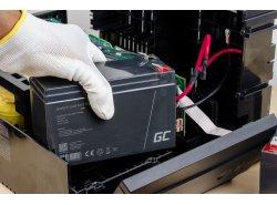 AGM Batería Gel Plomb 4V 4Ah Sans entretien Green Cell pour caisse enregistreuse et balances