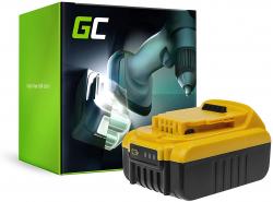 Batterie Green Cell (3Ah 14.4V) DCB140 DCB141 DCB142 DCB143 DCB145 XR pour DeWalt DCD734C2 DCD730 DCD730C2 DCD732D2 DCD735