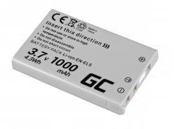 Green Cell ® Batterie EN-EL14 pour Nikon D3200, D3300, D5100, D5200, D5300, D5500, Coolpix P7000, P7700, P7800 7.4V 1150mAh