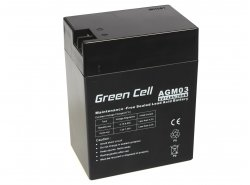 Green Cell ® Gel Batterie AGM 6V 14Ah